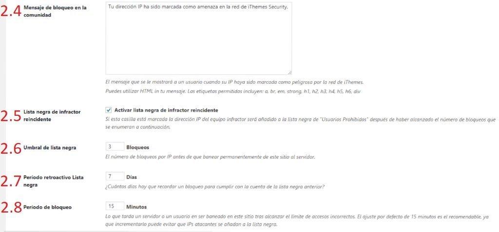 Configurar Ithemes Security Paso 11