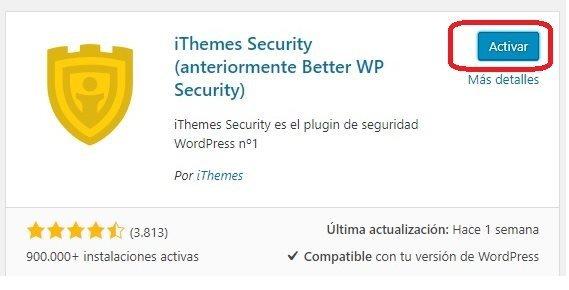 Configurar Ithemes Security Paso 2
