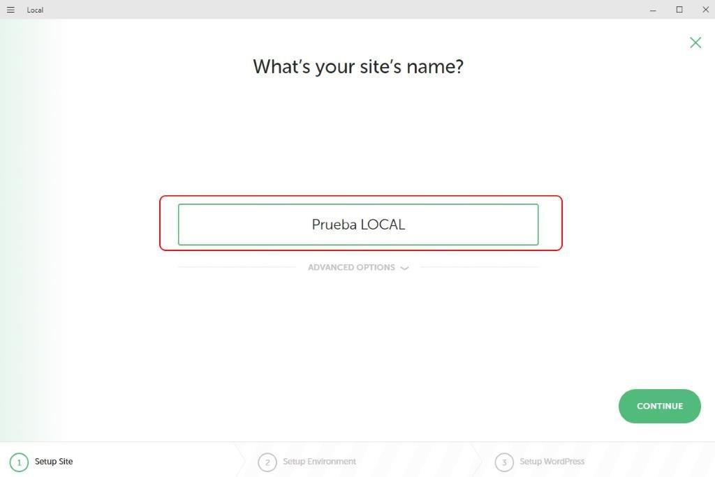 Instalar y configurar LOCAL by Flywheel Paso 12