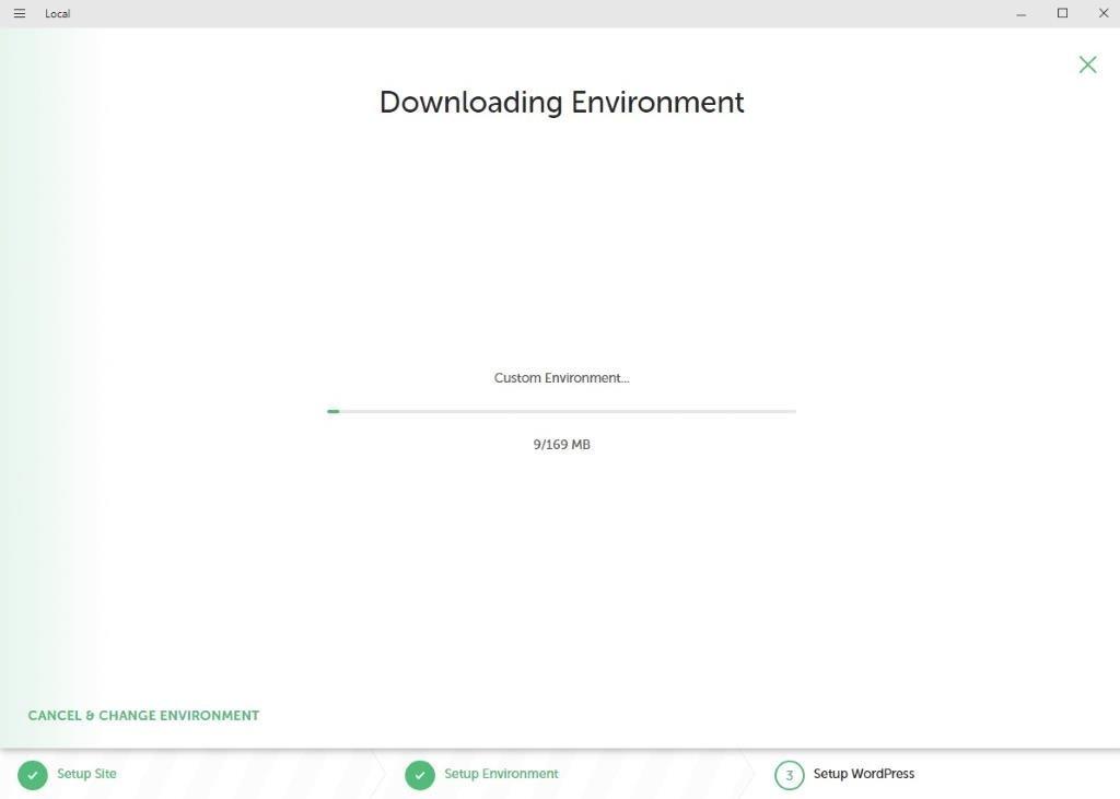 Instalar y configurar LOCAL by Flywheel Paso 15