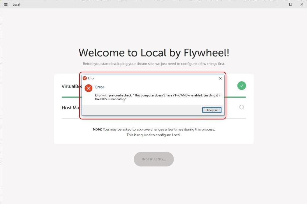 Instalar y configurar LOCAL by Flywheel Paso 7