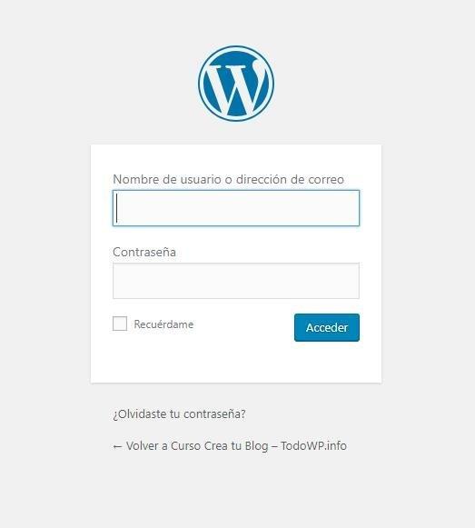 Instalar y configurar Wordpress