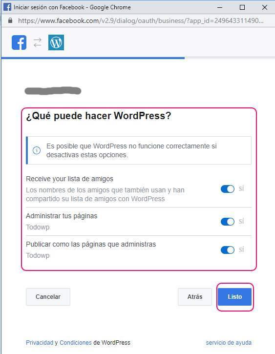 Cómo autopublicar en Facebook y Twitter 10