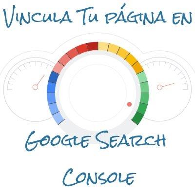 Vincula tu página en Google Search Console