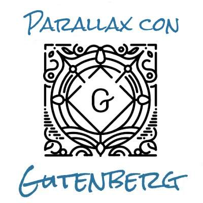 Parallax con Gutenberg portada